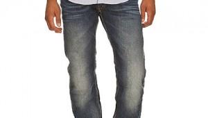 Japan Rags Jeans 611 Droite Bleu Délavé
