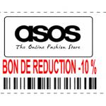Bon de réduction asos -10 %