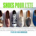 chaussure homme selection collection été pas chere
