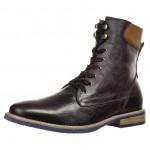 Zign Boots à lacets - noir