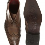 tête de mort original chaussure richelieu