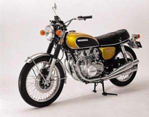 Honda-CB-500-1972 imprimée en 3D