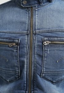 veste jeans gstar arc zip 3D soldes
