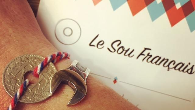 le sou francais lindauer bracelet originale francais